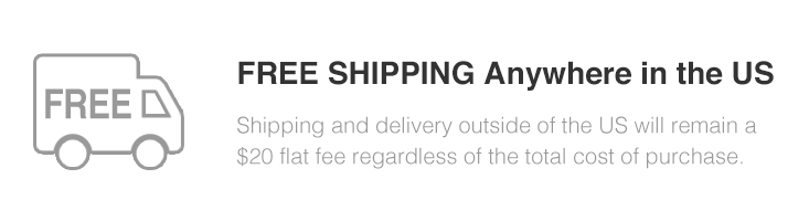FREE SHIPPING Anywhere in the US